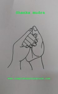 Mudra for Itching