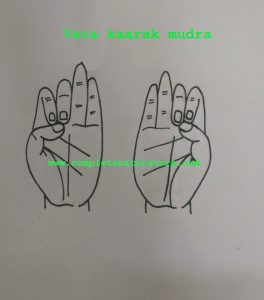 Mudra For Lethargy