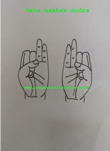 Mudra For Unsteady walk(gait)