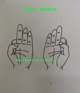 Mudra For Dry  Cough